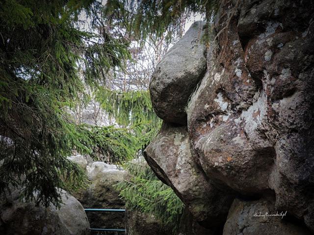 Góry Stołowe, Szczeliniec Wielki, Maszkara