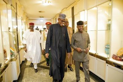 Osinbajo is performing well — Buhari