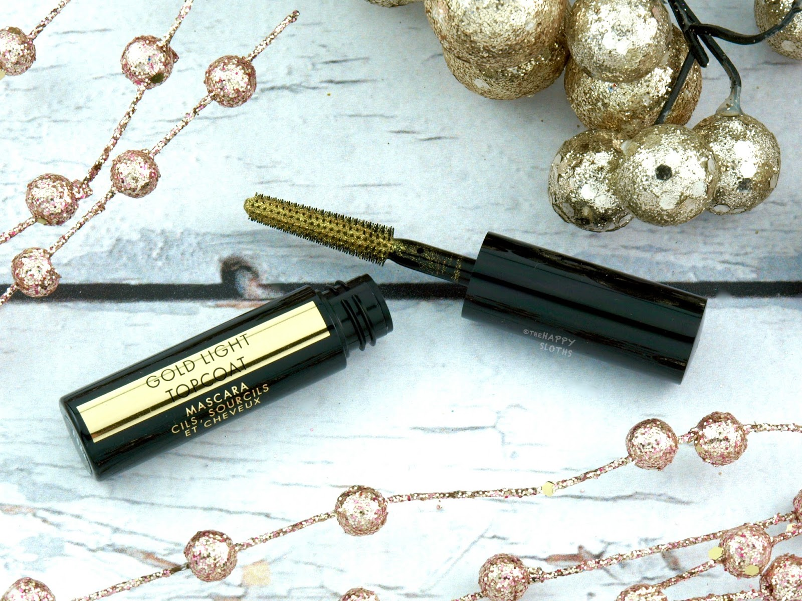 Guerlain Holiday 2017 Collection | Gold Light Topcoat Mascara: Review and Swatches