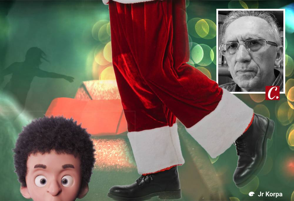 ambiente de leitura carlos romero cronica chico viana fantasia natal presente papai noel supersticao sonho