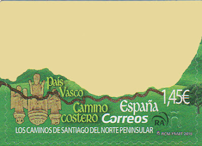 Sello Vizcaya, Camino de Santiago del Norte