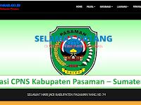 Formasi CPNS 2019 Kabupaten Pasaman