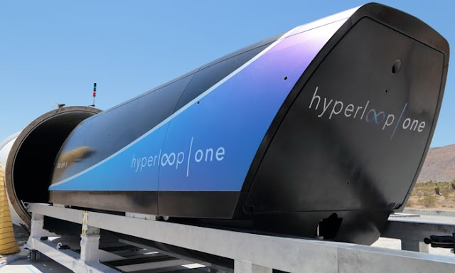 SpaceX Hyperloop One - Ultrasonic Train