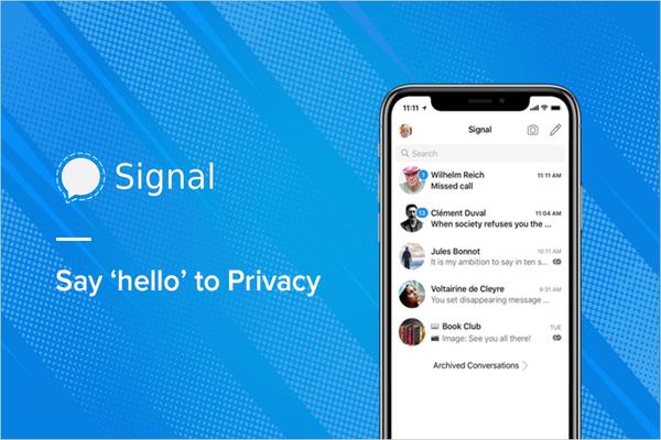 تطبيق Signal يكشف عن ميزة جديدة