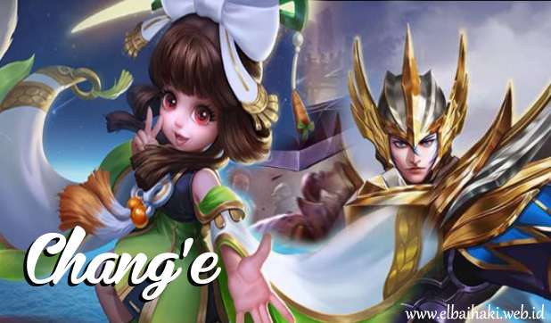 resmi dirilis di server global minggu kemaren Hero Chang'e Mobile Legends,  Hero Terbaru Adik Asuh Zilong