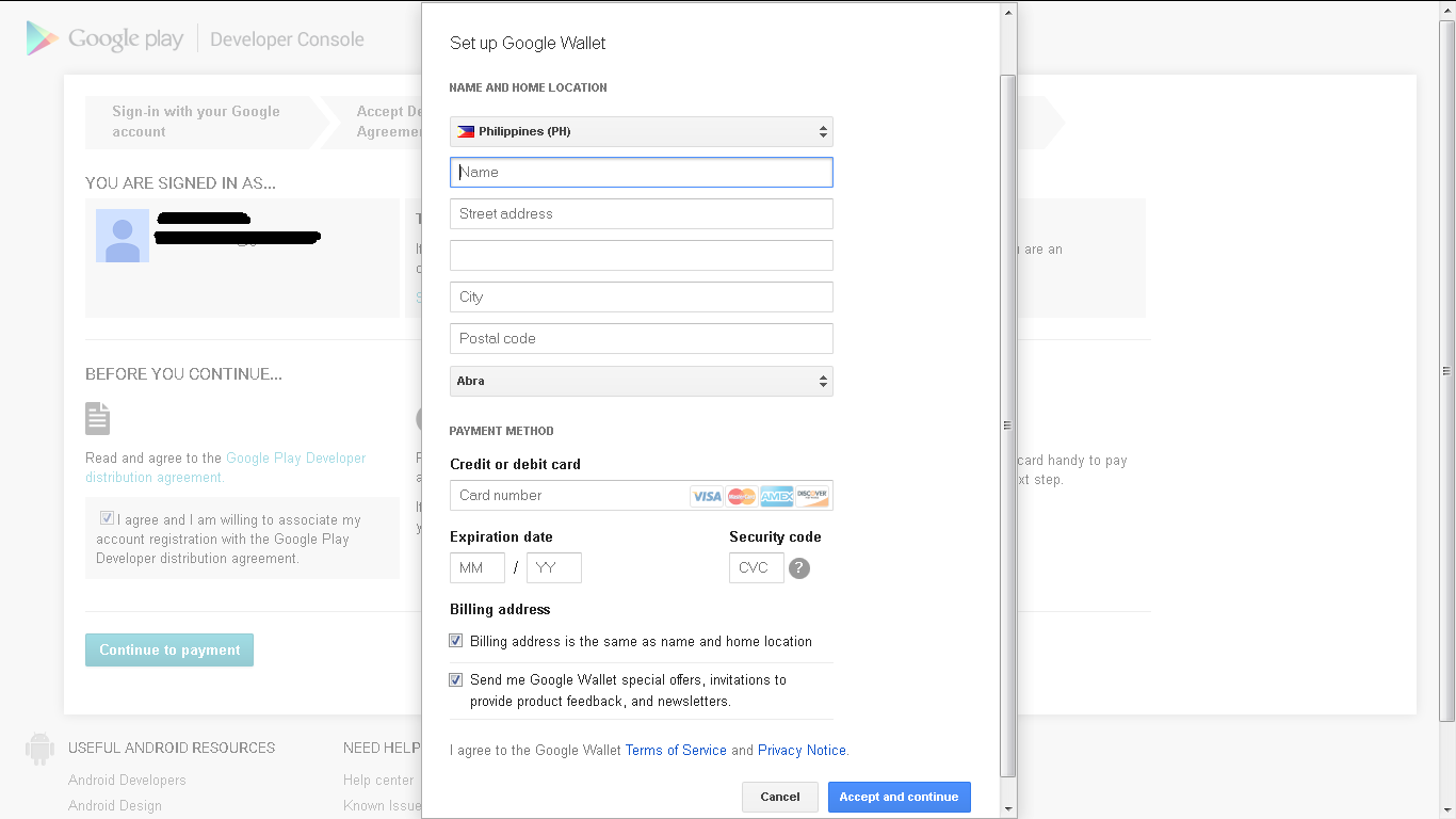 Made Today: Google Play Developer Console Account Step by Step