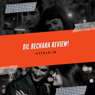 Dil Bechara stars Sushant Singh Rajput and Sanjana Sanghi