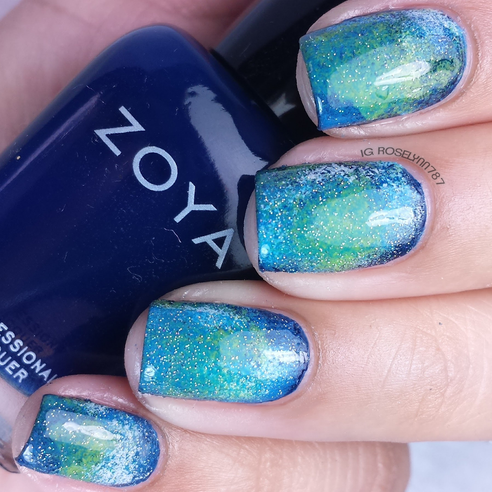Earth Day Nail Art