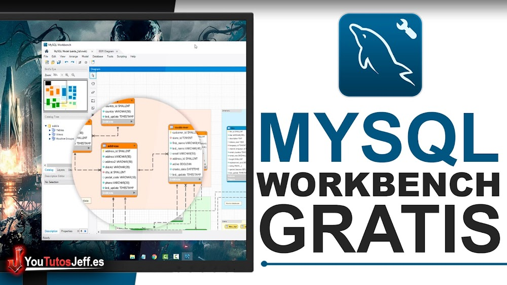 Descargar MySQL Server y MySQL Workbench Gratis Ultima Versión Windows
