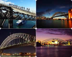 Tour Wisata Australia Jembatan Sydney Harbour
