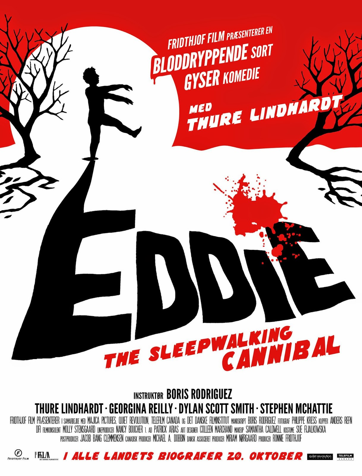 Eddie: The Sleepwalking Cannibal (2012) ταινιες online seires xrysoi greek subs