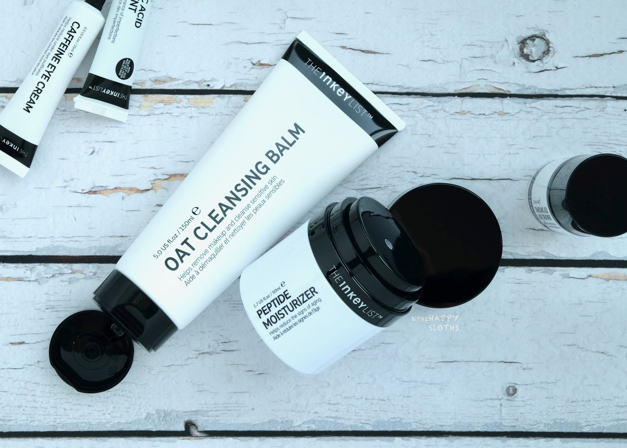 The INKEY List   Oat Cleansing Balm & Peptide Moisturizer: Review