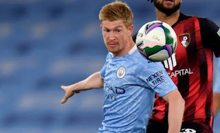 Kevin de Bruyne pens new Man City contract