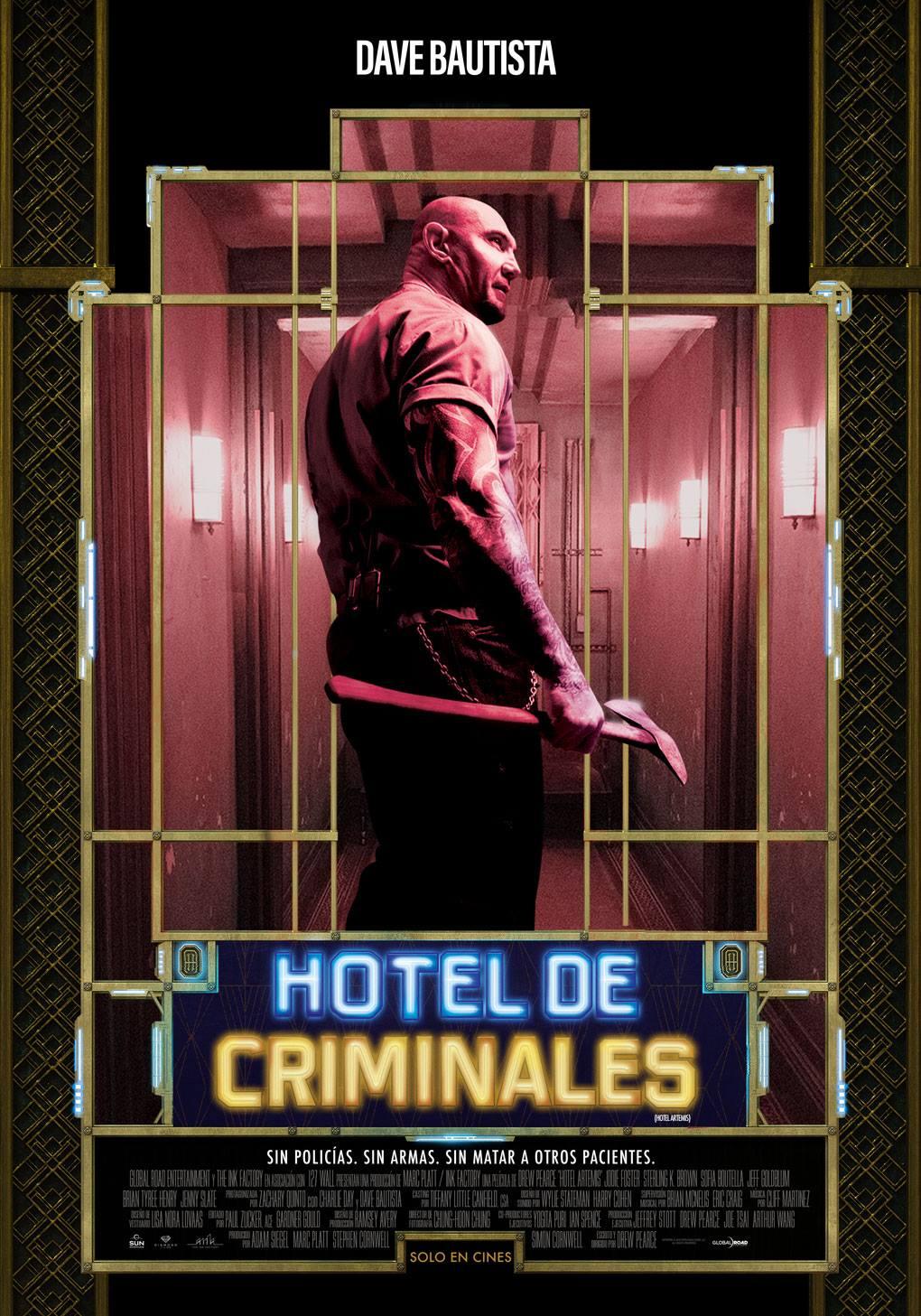Posters Individuales De Hotel De Criminales