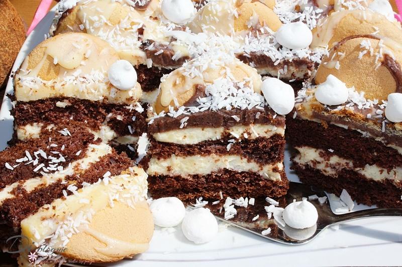 Ciasto Góra lodowa w wersji kokosowej