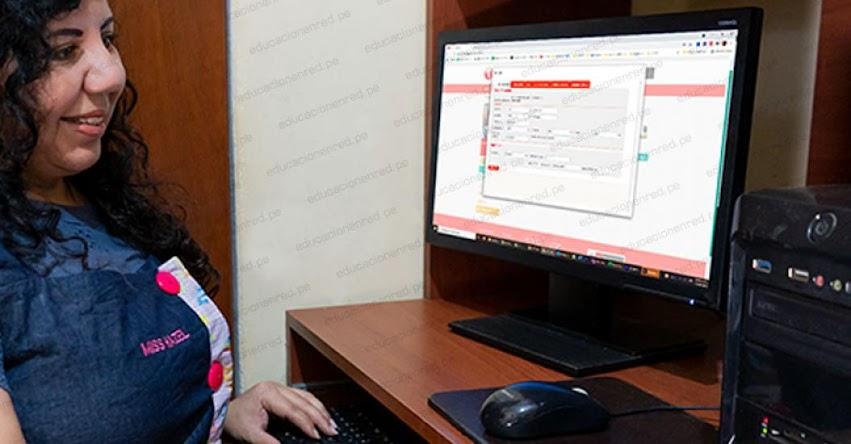 ATENCIÓN DOCENTES: Actualiza tus datos en PerúEduca y accede a los cursos virtuales de tu interés