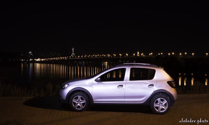 Renault Sandero Lightpaint