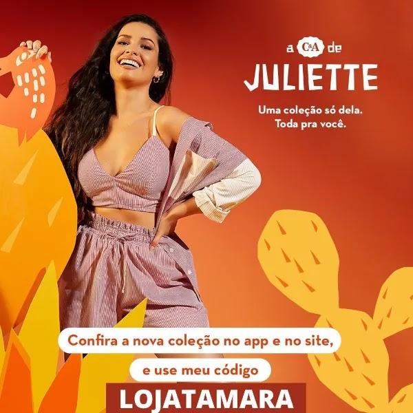 coleçao juliette c&a
