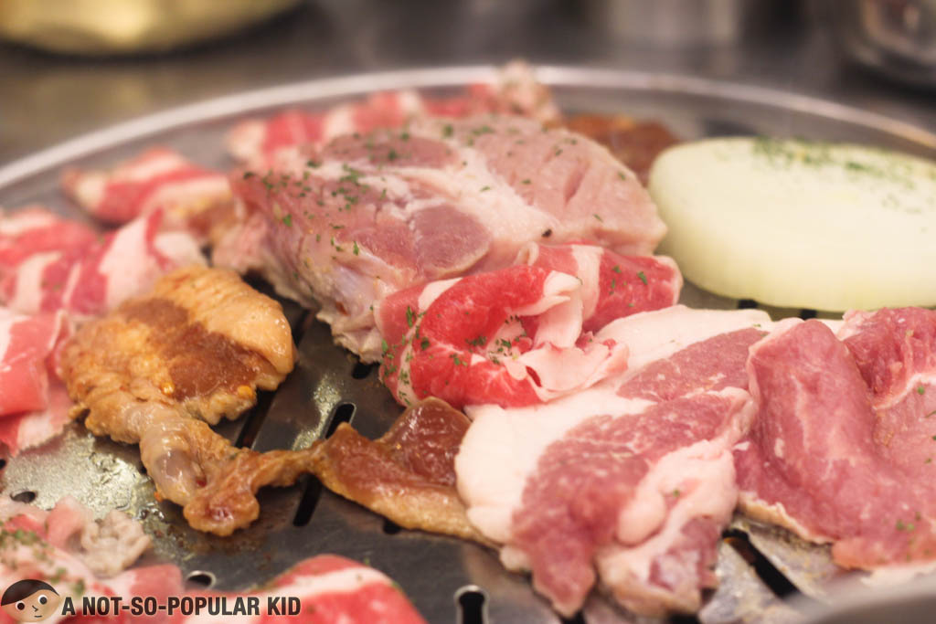 how to eat korean samgyupsal