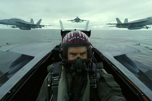 """Primeiro trailer de """"Top Gun 2: Maverick"""" nos leva de volta à zona de perigo"""