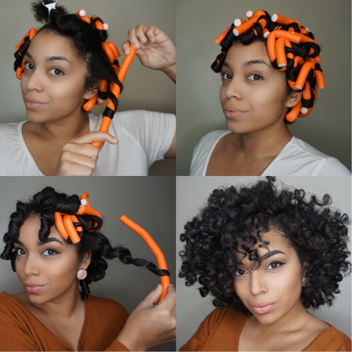 How To Use Flex Rods For Curls On Natural Hair My Fair Hair