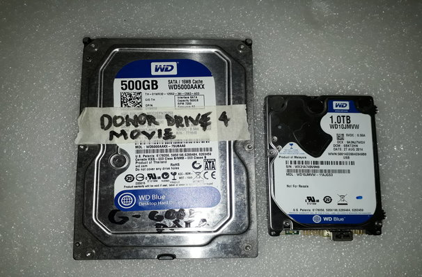 """WD Drive 3.5"""" and 2.5"""""""