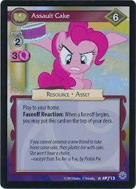 My Little Pony Assault Cake Premiere CCG Card