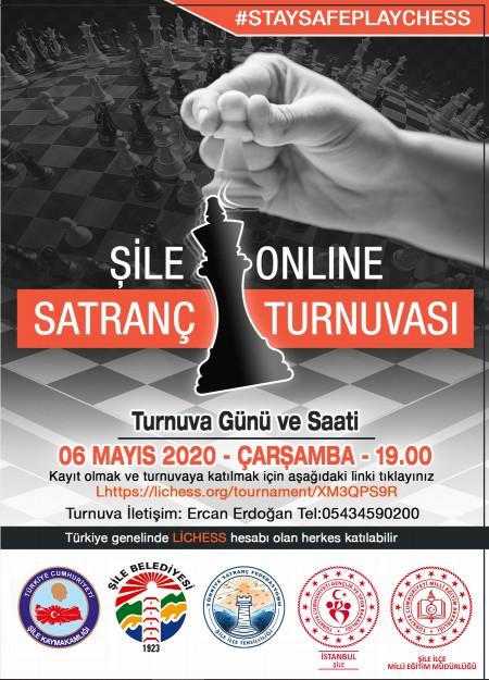 İlk Defa Online Gerçekleştirilen Şile Satranç Turnuvasının Kazananları