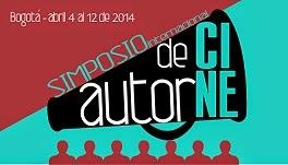 poster SIMPOSIO INTERNACIONAL CINE DE AUTOR