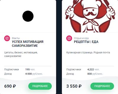 Подбор сообществ инстаграм