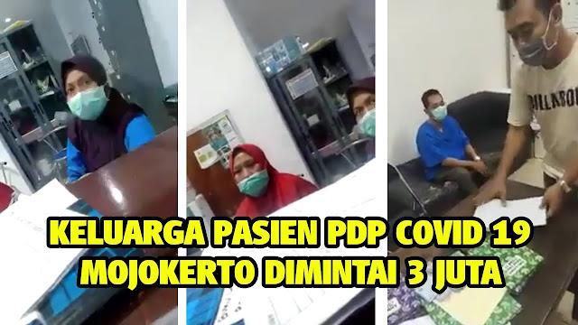 Video Oknum Petugas RS minta Rp 3 Juta untuk Pemulasaraan Jenazah PDP Corona