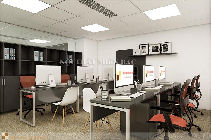 Bố trí nội thất đẹp khi thiết kế văn phòng