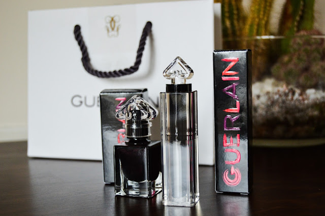 Guerlain La Petite Robe Noire Lipstick Beige Lingerie and Nail Polish Black Perfecto Review