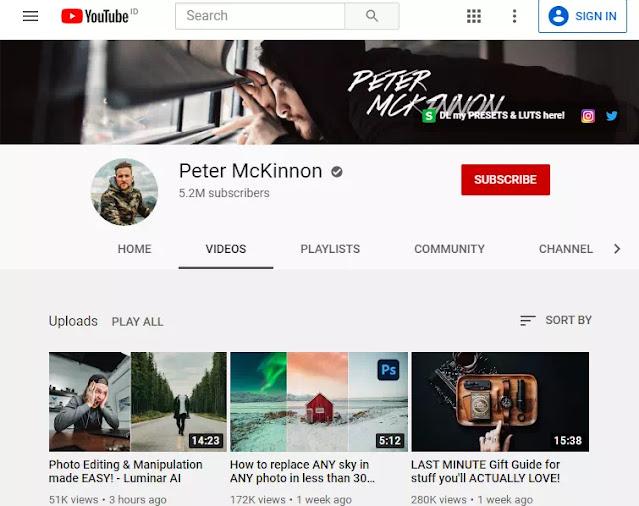 Channel YouTube Untuk Belajar Fotografi dan Videografi-4