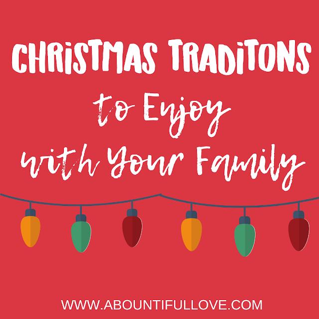 Christmas Traditions to Enjoy