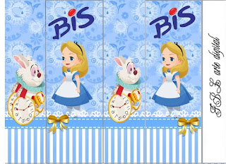Alice Baby: Free Printable Candy Bar Labels