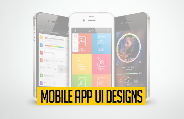 40 Great Free Mobile App UI PSD for Designers