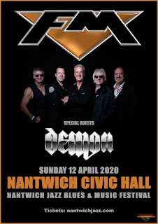 FM at Nantwich Civic Hall - 12 April 2020 - poster