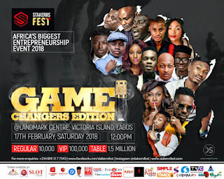 Event: STAKERRS FEST – THE GAME CHANGERS EDITION SET TO HOLD ON 17TH FEBRUARY 2018