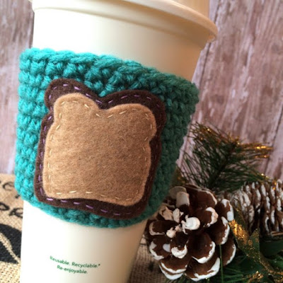 Bread Slice Cup Sleeve