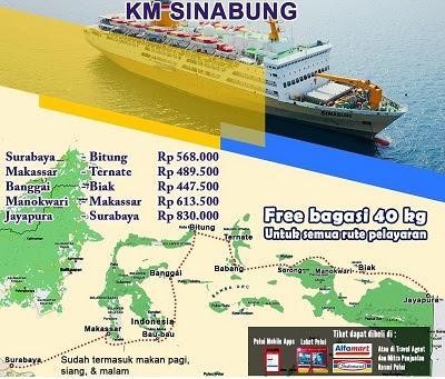 Jadwal Kapal Pelni Sinabung Januari 2021 Asuransi Perjalanan