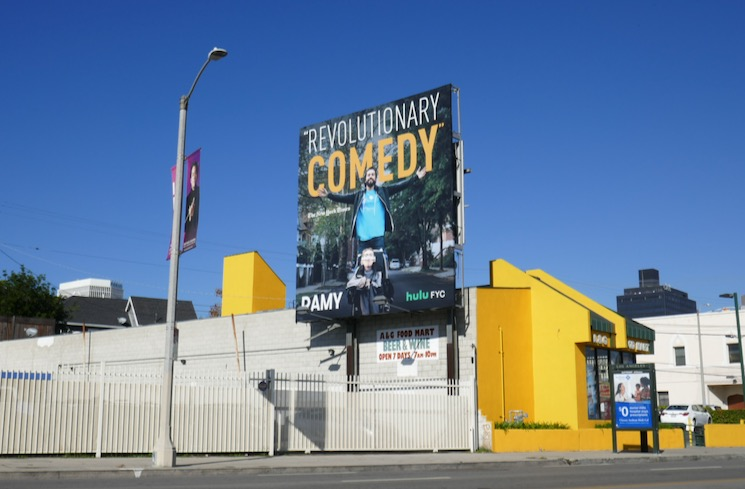 Ramy season 1 Hulu FYC billboard