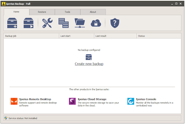 Screenshot Iperius Backup 6.2.5 Full Version