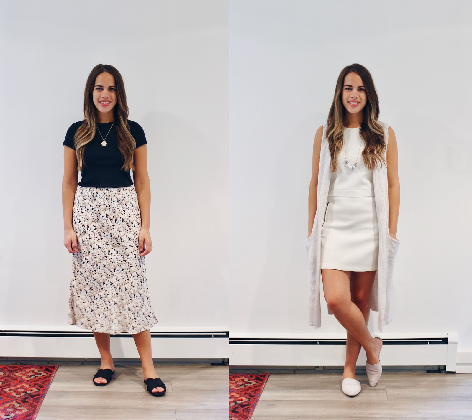 Jules in Flats- August Outfits Week One (Business Casual Summer Workwear on a Budget)