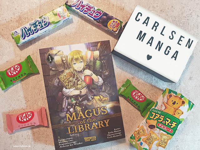 Magus of the Library, Band 1 von Mitsu Izumi