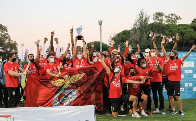 Benfica Campeão Nacional de Atletismo 2019/20