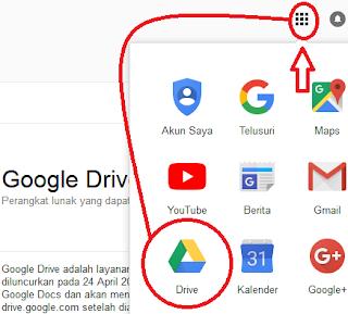 informasi daring yang merujuk kepada google sebagai ektensinya
