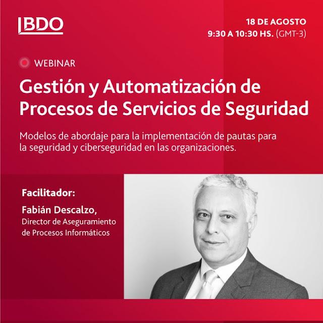 Webinar Digital Ciso | Gestión y automatización de procesos de servicios de seguridad.