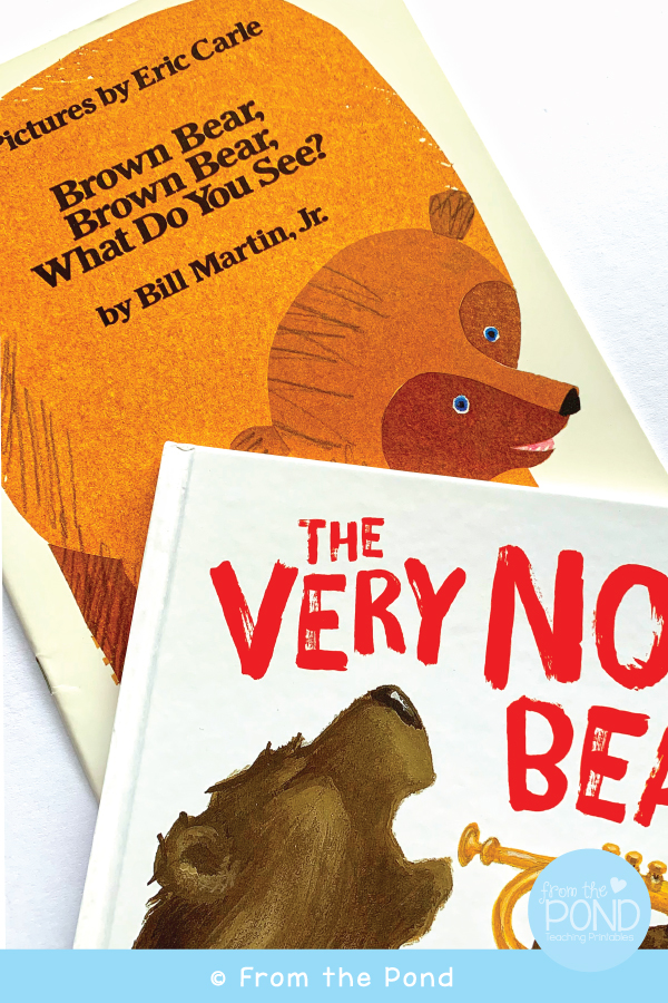 Back to School Bear Books