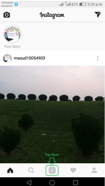 Cara Upload Foto Full Size di Instagram Tanpa Cropping 2